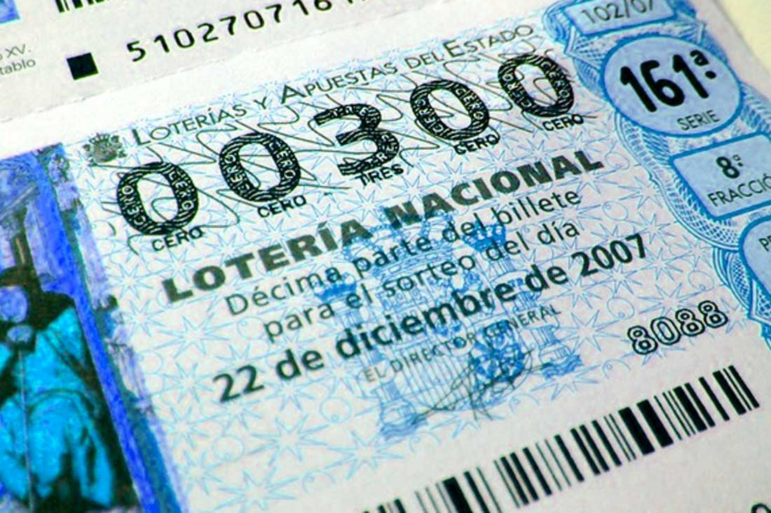 ¿Qué y cómo funciona un décimo de lotería nacional?